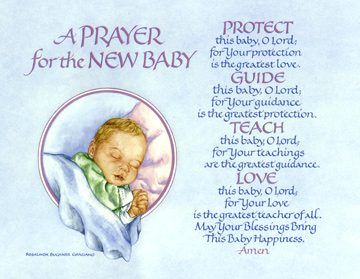 Prayer for the new baby