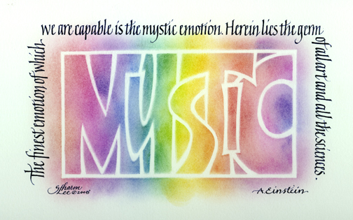 Einstein - mystic emotion