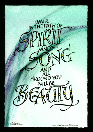 spirit, song and beauty