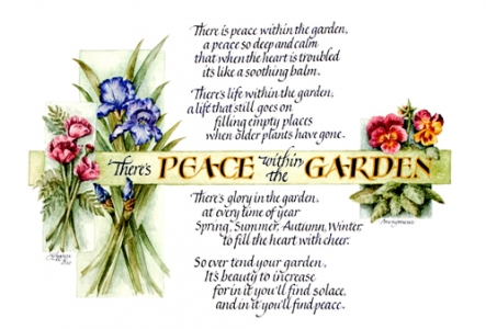 Peace in the Garden